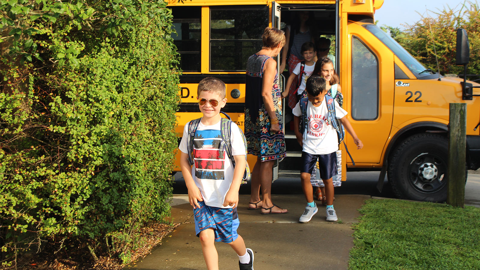 Woodhull Students Welcomed Back photo